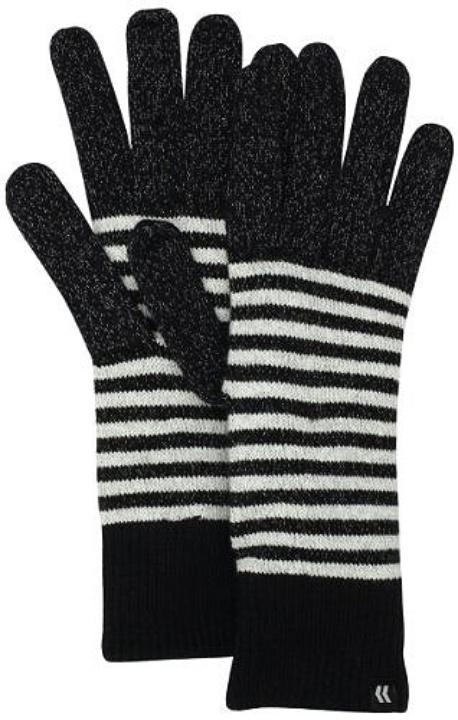 ISOTONER Women's smarTouch Mini Stripe Allover Gloves