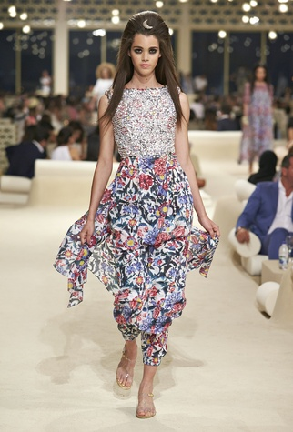 A look from Chanel Dubai resort collection