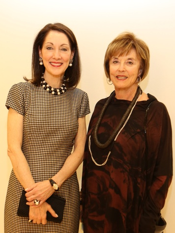 15 Susie Criner, left, and Jane Eifler at Saks' Key to the Cure October 2013
