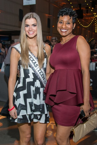 Kirby Lindley (Teen USA), Kelley Sergeant at Big Texas Party