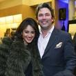 46 Maryam Afshari and Jared Lang at Dress for Dinner February 2014