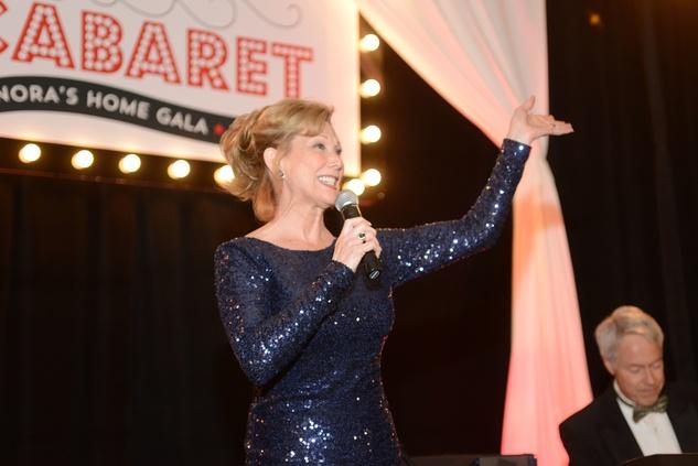 Terry Pierce at Nora's Home Gala May 2014