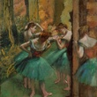 Edgar Degas, Dancers, Pink and Green, c. 1890, oil on canvas, The Metropolitan Museum of Art, New York, H. O. Havemeyer Collection, bequest of Mrs. H. O. Havemeyer, 1929