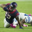 9 Texans vs. Colts October 2014 Arian Foster going down
