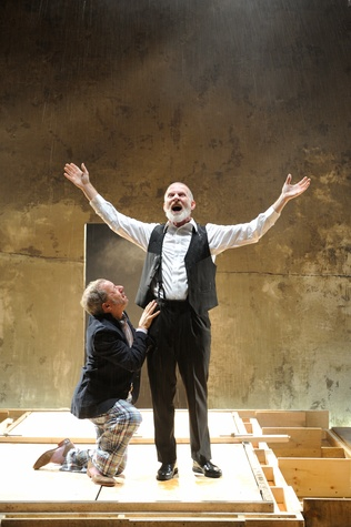 Stephen Berenson and Brian McEleney in King Lear, presented by Dallas Theater Center