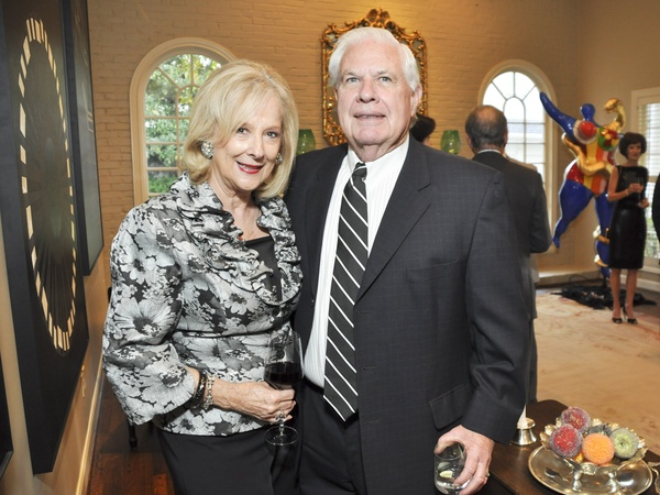 004, Houston Ballet Ball kickoff party, October 2012, Mary Ann McKeithan, David McKeithan