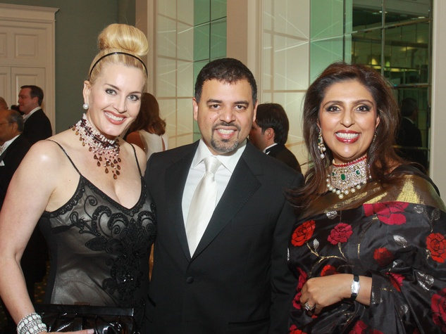 199 Kimberly DeLape, from left, with Pershant Mehta and Nidhika Mehta