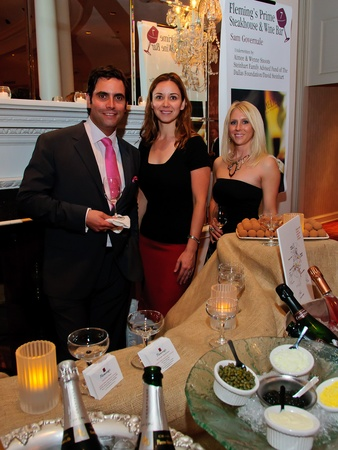 News_Periwinkle Sommelier Event_April 2011_Sam Governale_Gabriela Castillo_Kelly McCloud