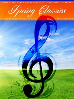 Booker T Washington High School for the Performing and Visual Arts presents Spring Classics: A Touch of Memorable Music