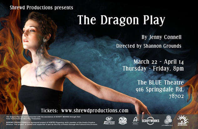 Austin Photo Set: News_Dawn_Shrewd Productions' The Dragon Play_march 2012_poster