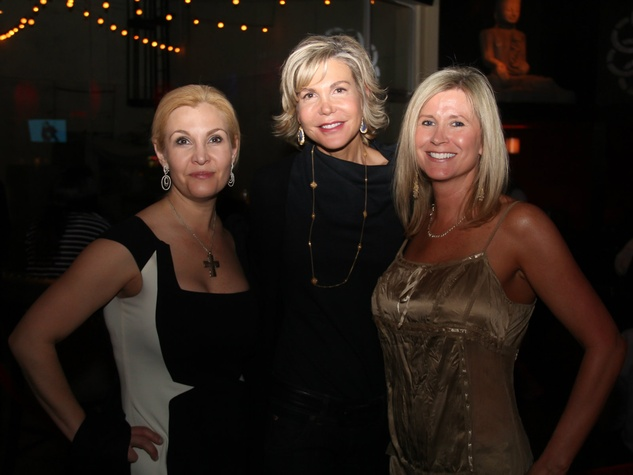 Cheryl Callewart, Angela Thompson and Michelle Weiner, spca of texas paw for a cause