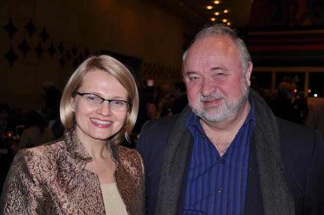 Kinga Ferguson and David Lake, Ars Lyrica NYE 2013