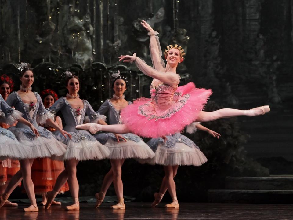 Houston Ballet, Sara Webb, The Sleeping Beauty, chor. Ben Stevenson