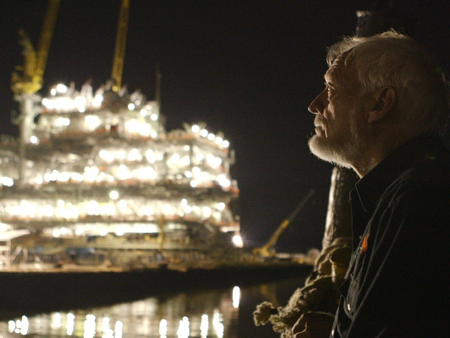 The Great Invisible Latham Smith, a tugboat captain who works for the oil industry
