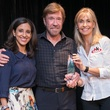 Houston, Crime Stoppers Awards luncheon, May 2015, Rania Mankarious, Chuck Norris, Gena Norris