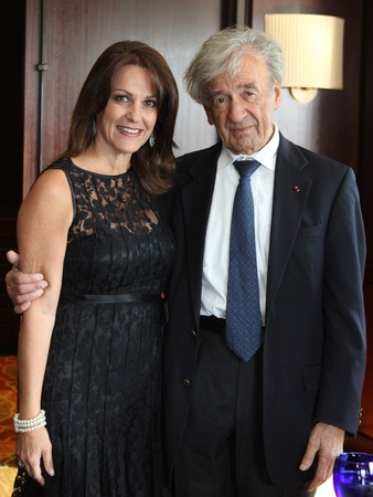 News_Holocaust Museum dinner_May 2012_Tali Blumrosen_Elie Wiesel
