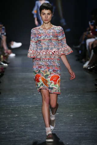 Vivienne Tam look 16 Houston collection