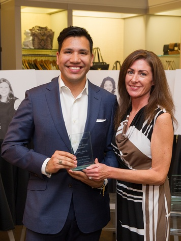 3 Carlos Paz Jr. and Rebecca Koterwas at the Houston Grand Opera Ovation Awards March 2014