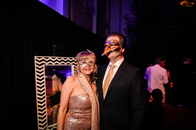 Charlene Salvato and Charlie Davenport at DREAMSCAPE The Orange Show's 32nd Annual Gala November 2013