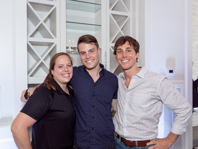 Houston, Carnegie Homes event, July 2017, Jillian Joplind, Skyler Gray, Brandon Weinbrenner