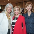 Council Member Karla Cisneros, Dana Kervin and Susan Sarofim/Mayor's Literacy Breakfast