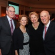 Joe and Harriet Foster, from left, and Ginger and Jack Blanton at the Houston Hospice dinner October 2013