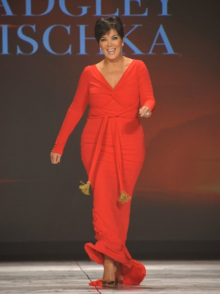 11, The Heart Truth 2013 Fashion Show, Kris Jenner wearing Badgley Mischka