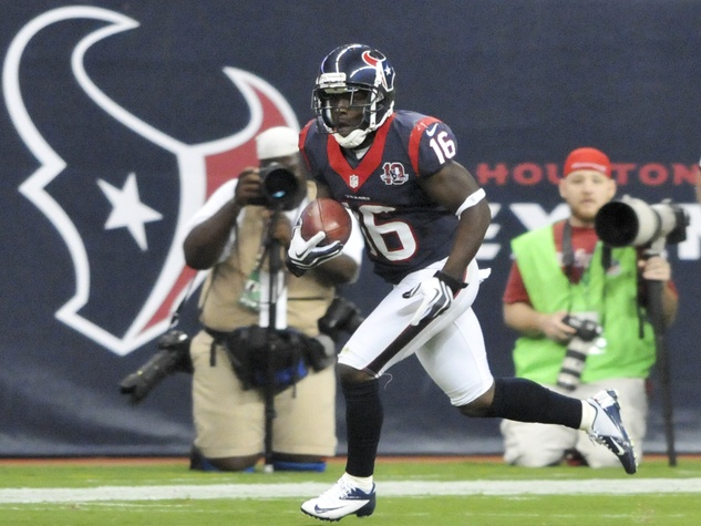 Trindon Holliday TD return Texans