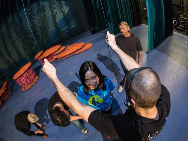 TUTS Little Mermaid rehearsal June 2014
