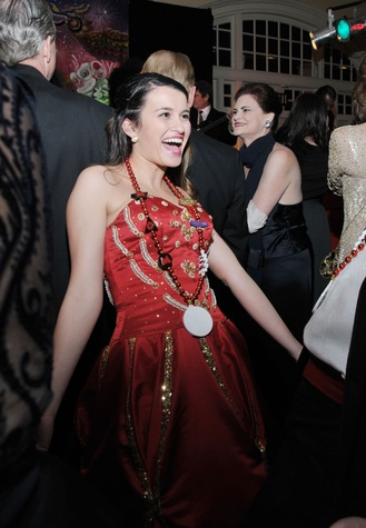 Kayleigh Silva at the Knights of Momus Ball February 2015