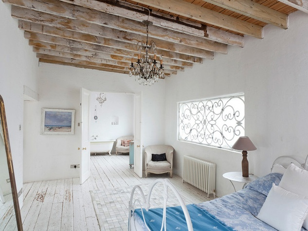 Houzz modern rustic bedroom