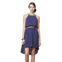 anthropologie lark high-low dress