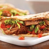 tacos, pulled pork