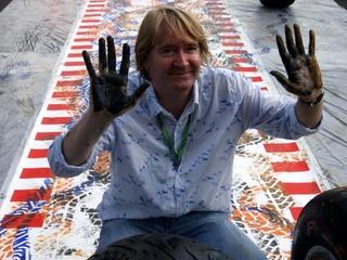 Official Formula 1 artist Mark Dickens