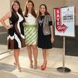 2014 Partners Card Co-‐Chairs Andrea Cheek, Diana Hamilton and Lisa Bhattacharya, partners card kick off