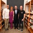 Marcus Sloan, Gracie Cavnar, Bob Cavnar, Shannon Hall at Recipe for Success Dress for Dinner event