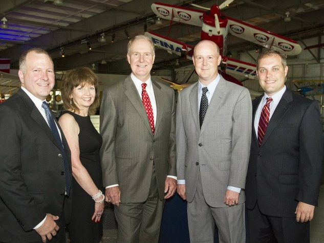Kevin Krone, Anne Murray, Gary Kelly, William Tierney, Ryan Green, southwest awards party