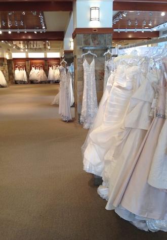 Joan Pillow bridal sample sale 1
