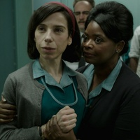 Miranda Hawkins and Octavia Spencer in The Shape of Water