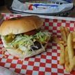 6 Red Ox Bar & Grill May 2014 hamburger and french fries