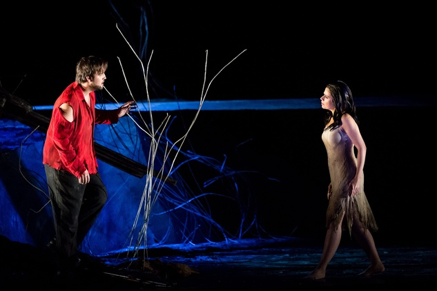 Brian Jagde and Anna Maria Martinez in Rusalka