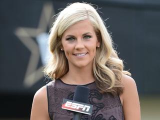 Samantha Ponder of ESPN