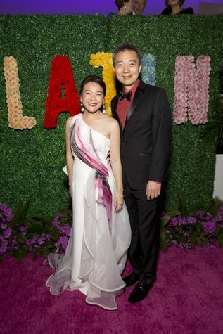 Lan-Phuong Vu-Yu and Dr. Tse-Kuan Yu at Latin American Experience