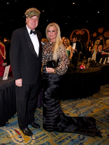 Lamar and Theresa Roemer at the Montgomery County Heart Ball March 2014