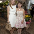 Angie Reckling, left, and Fran Fauntleroy at the Rienzi Spring Party April 2014