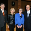 Mayor Mike Rawlings, Della Best, Molly Bogen, Bob Best, the senior source