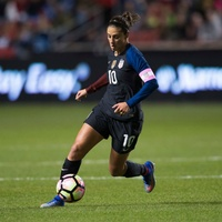 Carli Lloyd of the U.S. Women's National Soccer Team