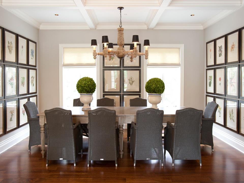 Laura Singleton, interior design, October 2012, dining room