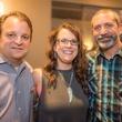 Parish School Gala, Feb. 2016 Brian Merchant, Heather Knies, Tommy Morton
