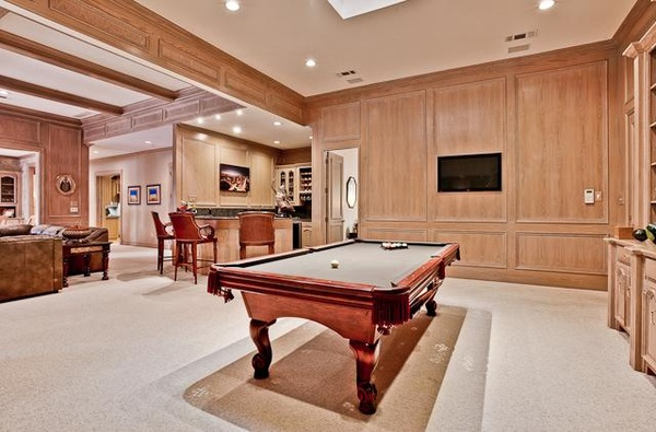 Billiard room at 5600 Cradlerock in Plano